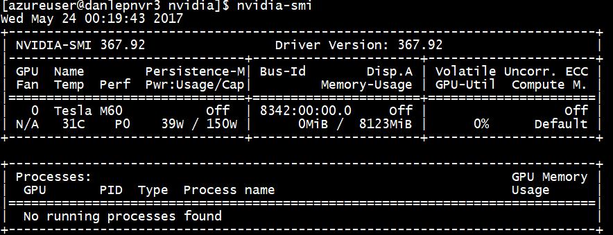 Azure N-series GPU driver setup for Linux | Microsoft Docs