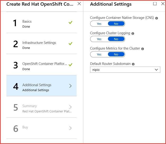 Deploy OpenShift Container Platform Self-Managed Marketplace Offer
