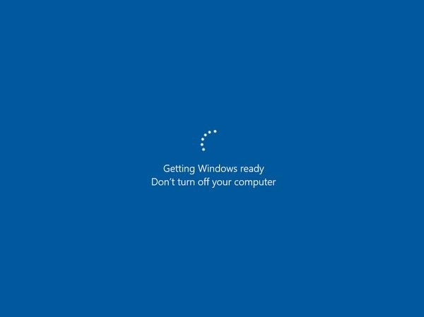 VM startup is stuck on