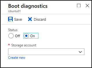 Boot diagnostics for VMs in Azure | Microsoft Docs