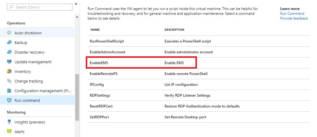 Azure Serial Console for Windows | Microsoft Docs
