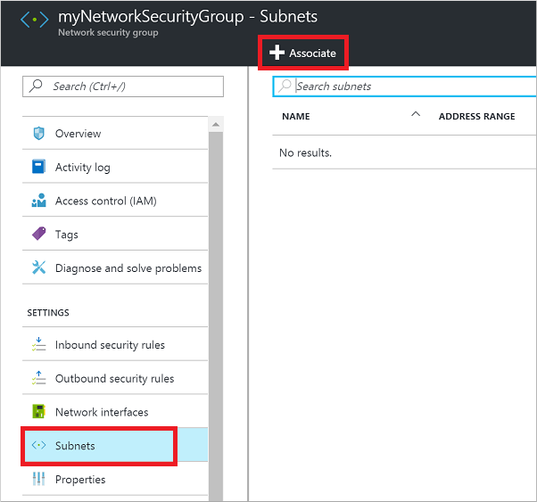 Open ports to a VM using the Azure portal | Microsoft Docs