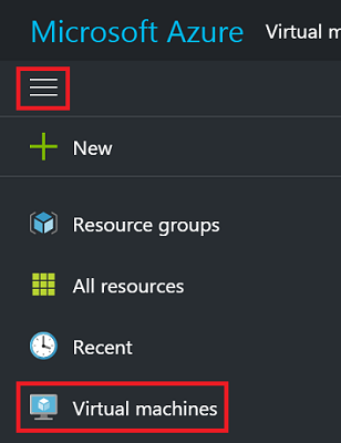 Browse for your Azure VM