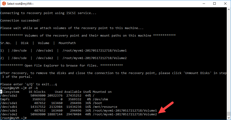 Back up and recover an Oracle Database 12c database on an