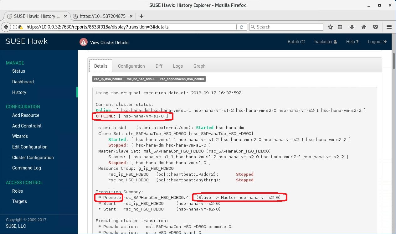 Troubleshoot SAP HANA 2 0 scale-out HSR-Pacemaker setup with