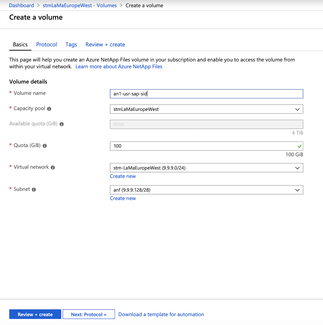 SAP LaMa connector for Azure | Microsoft Docs