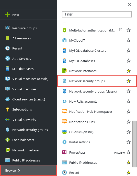 How To Create A Nsg And Create Rules For It In Azure
