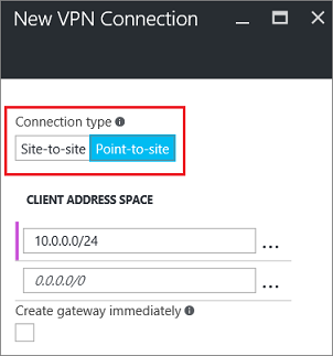 Connect a computer to a virtual network using Point-to-Site