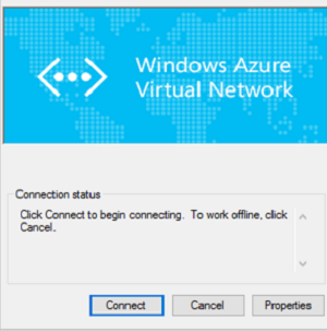Connect a computer to an Azure virtual network using Point-to-Site