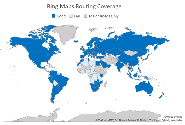 Bing Maps Geographic Coverage - Bing Maps | Microsoft Docs United Provinces Of Central America Map on u s military history central america map, federation of central america map, colonial latin america map, us and mexico map, central america caribbean map, physical regions of the united states map, blank us physical geography map, anglicanism england united states spread map, anglican church population map,