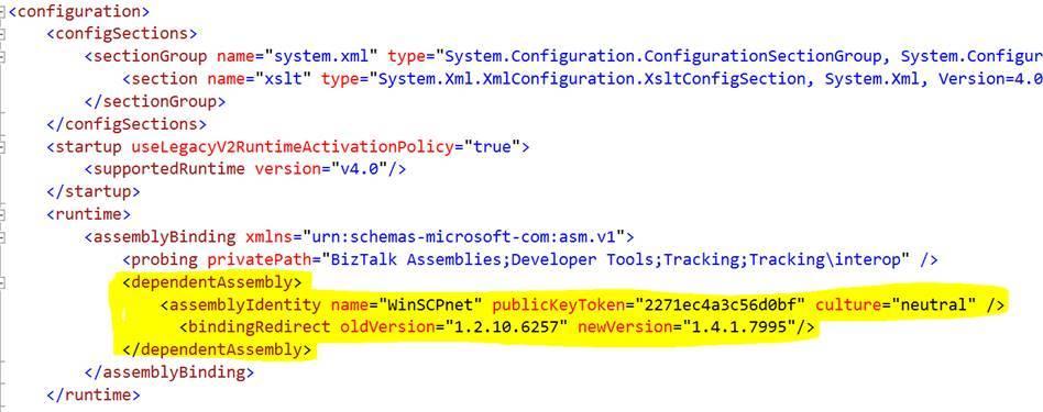SFTP Adapter - BizTalk Server | Microsoft Docs
