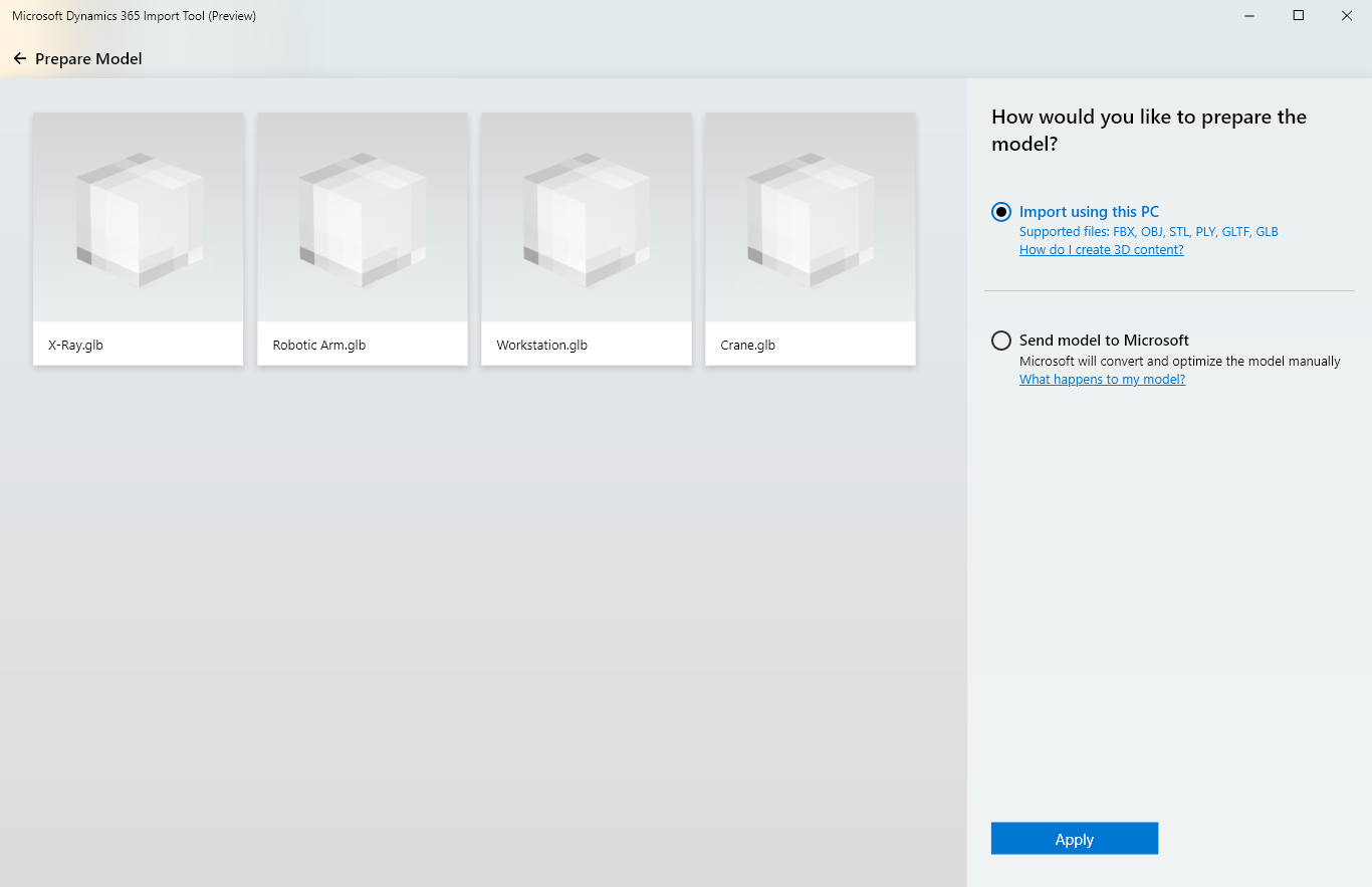 New file formats for Dynamics 365 Import Tool (Preview
