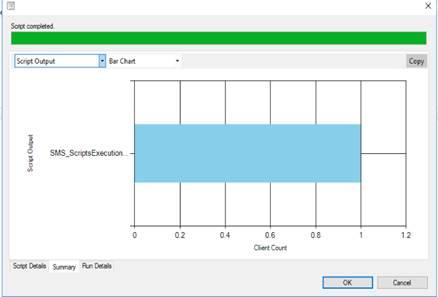 Script monitor - Truncated Script