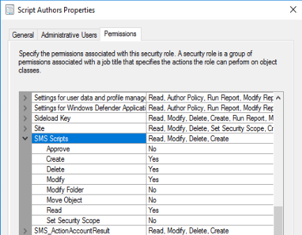 Create and run scripts - Configuration Manager | Microsoft Docs
