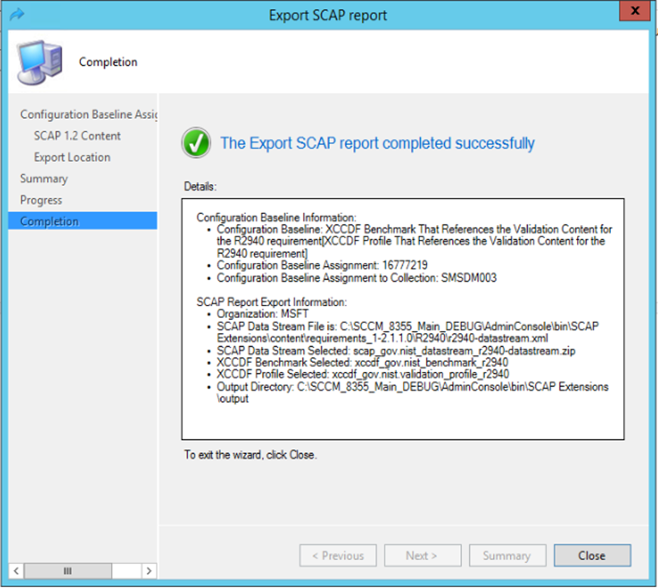 Deploy and monitor SCAP compliance - Configuration Manager