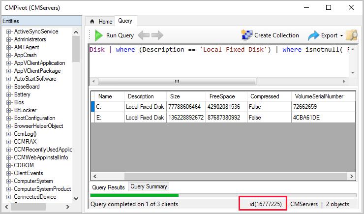 Troubleshooting CMPivot - Configuration Manager | Microsoft Docs