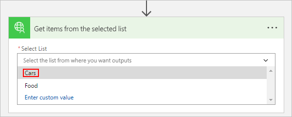 Extend an OpenAPI definition for a custom connector