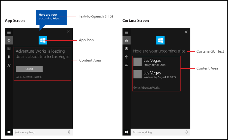 cortana canvas overview