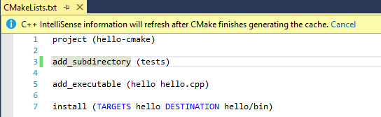 how to create a cmakelists txt file