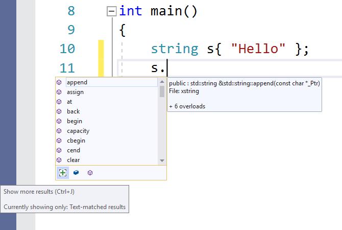 Edit and refactor C++ code in Visual Studio | Microsoft Docs