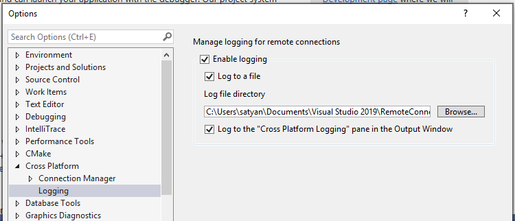 Configure a C++ Linux project in Visual Studio | Microsoft Docs