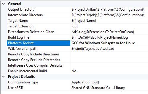 Configure a C++ Linux project in Visual Studio | Microsoft Docs