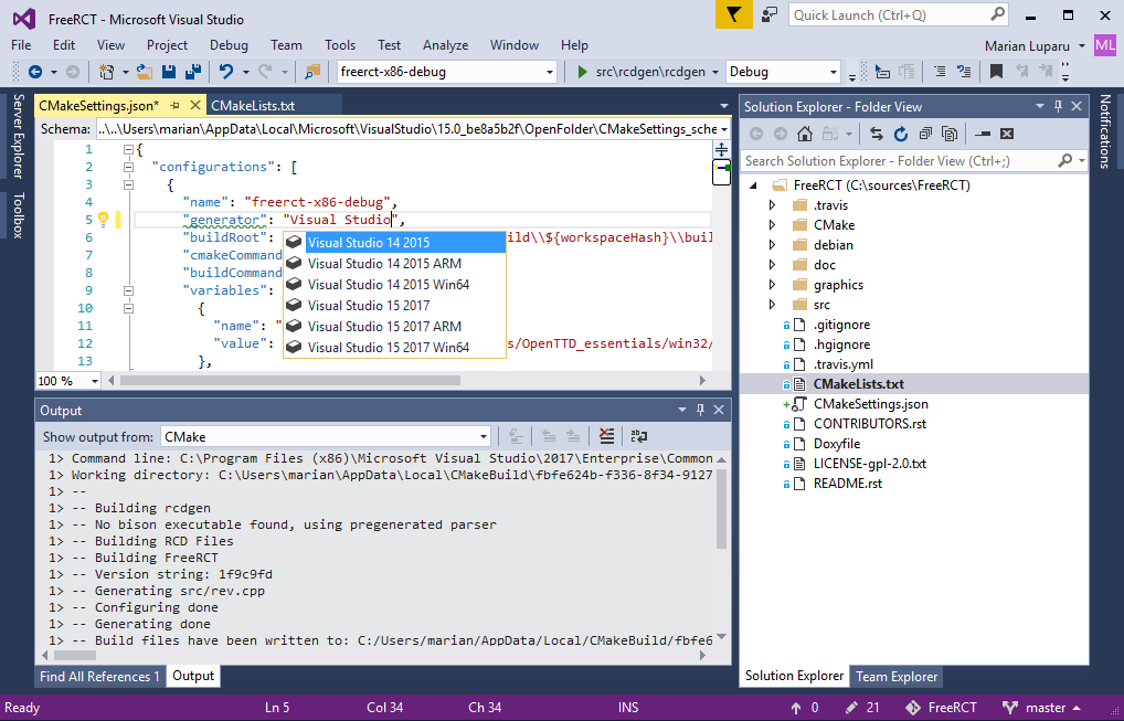 What's new for C++ in Visual Studio | Microsoft Docs