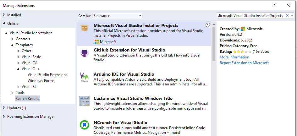 Deploy a Visual C++ Application By Using a Setup Project | Microsoft