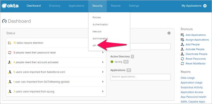 Connect Okta to Cloud App Security | Microsoft Docs
