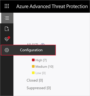 Set Azure Advanced Threat Protection notifications