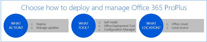 Plan Your Enterprise Deployment Of Office 365 Proplus Microsoft Docs