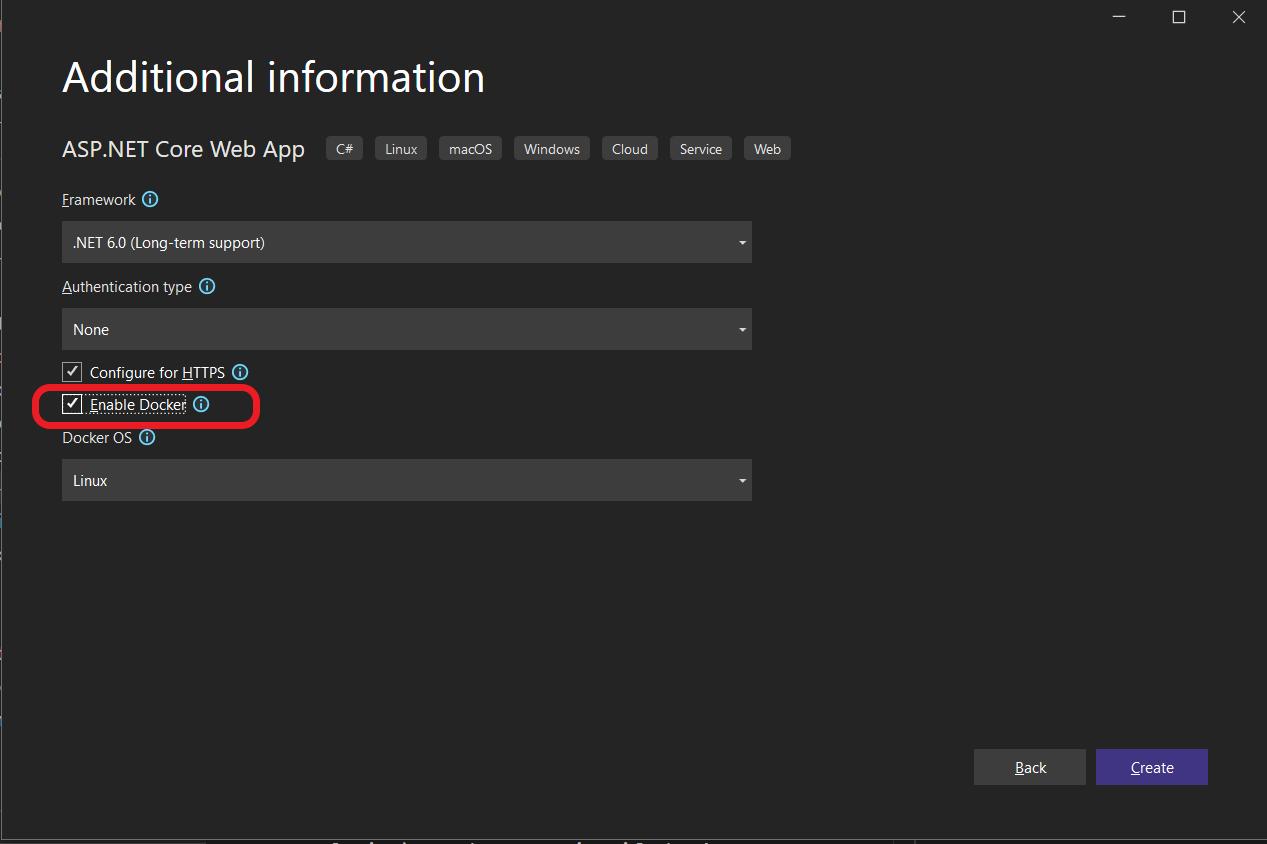 Visual Studio Tools for Docker on Windows   Microsoft Docs