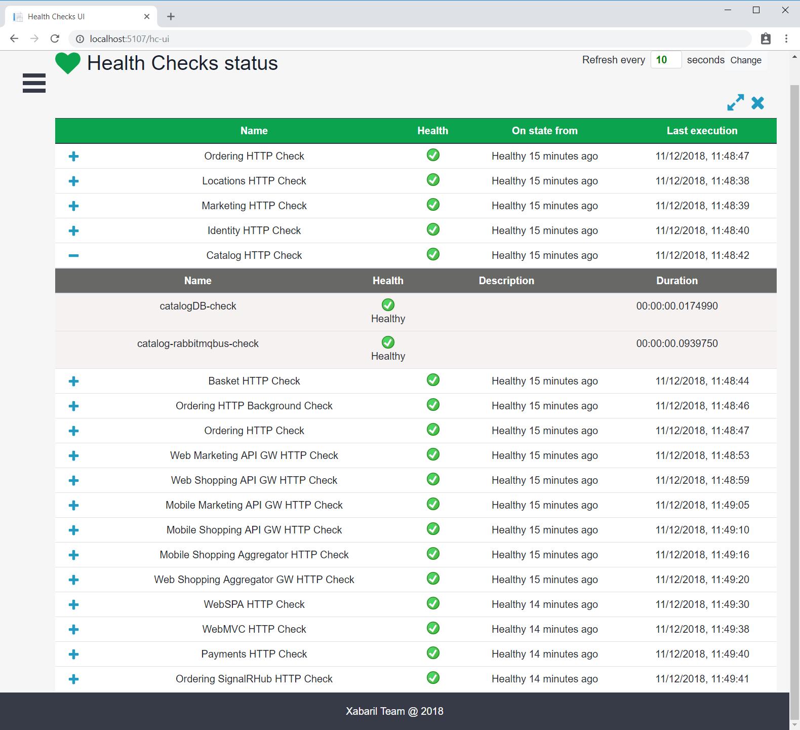 Health monitoring   Microsoft Docs