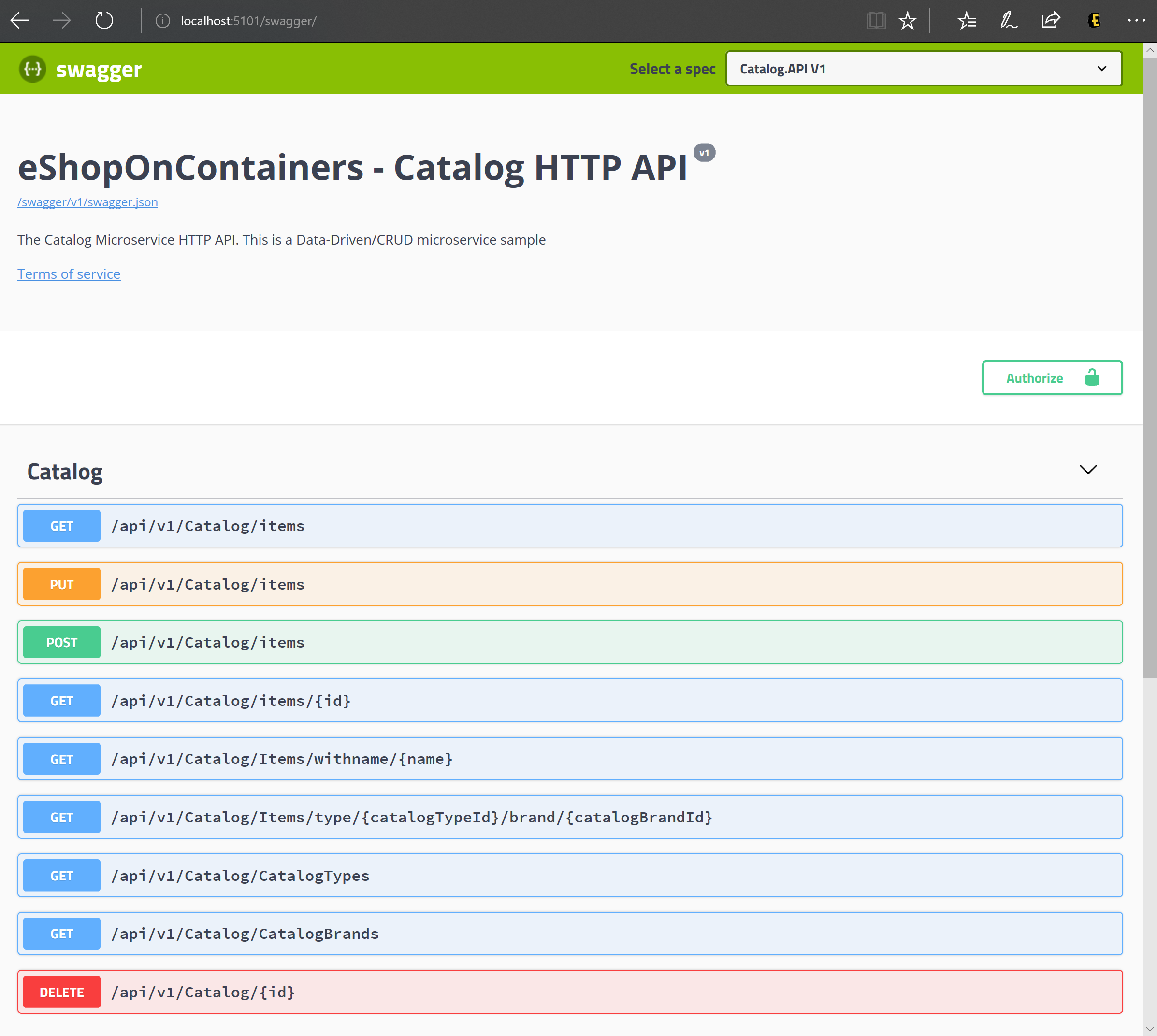 Implementing API Gateways with Ocelot | Microsoft Docs