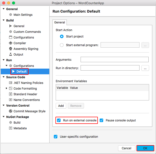 Building a complete  NET Core solution on macOS using Visual
