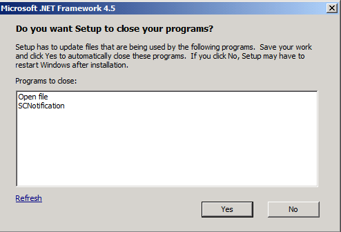 Reducing System Restarts During .NET Framework 4.5 Installations ...
