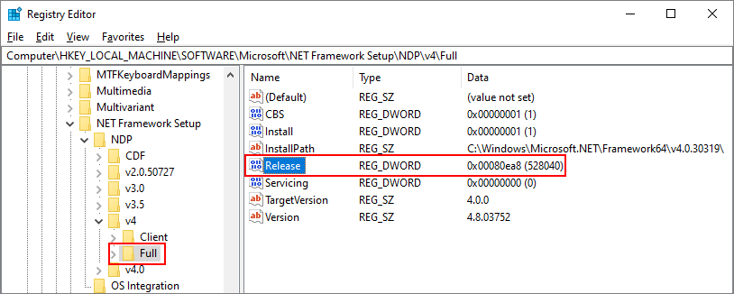 How to: Determine which .NET Framework versions are installed ...