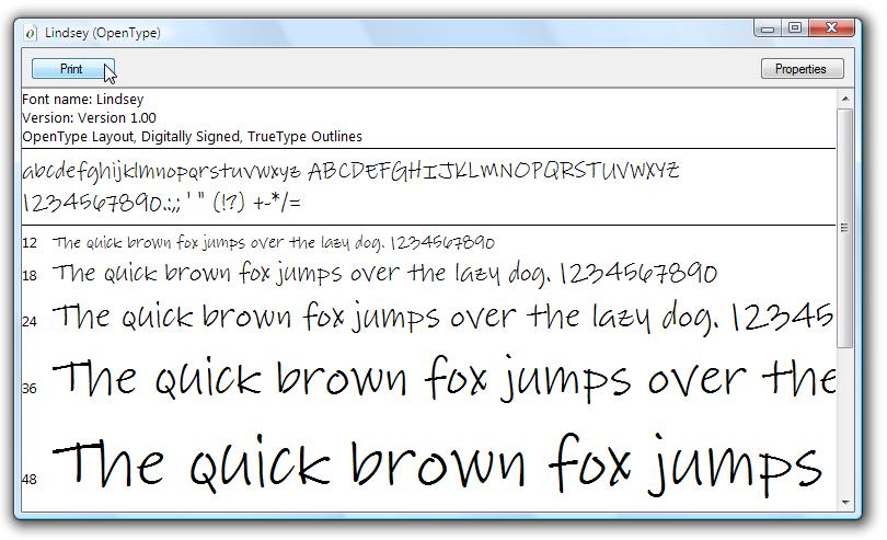 Sample OpenType Font Pack | Microsoft Docs