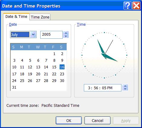 clock into