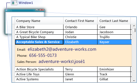 How to add row details to a datagrid control microsoft docs for Wpf datagrid control template