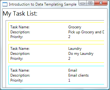 Data Templating Overview | Microsoft Docs