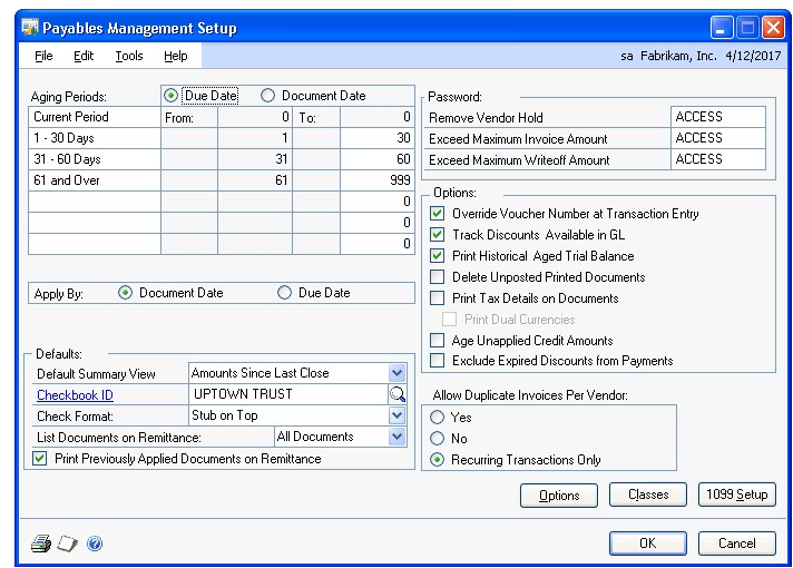Payables Management in Dynamics GP - Dynamics GP | Microsoft