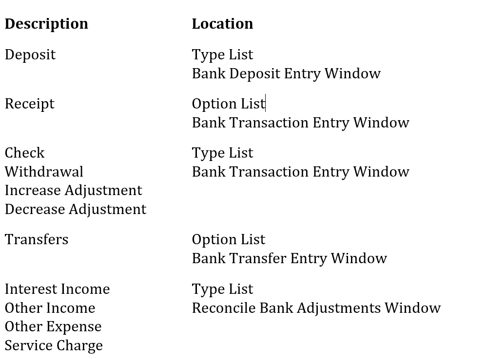 Bank reconciliation in Dynamics GP - Dynamics GP | Microsoft Docs