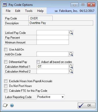 Payroll extensions in Dynamics GP - Dynamics GP   Microsoft Docs
