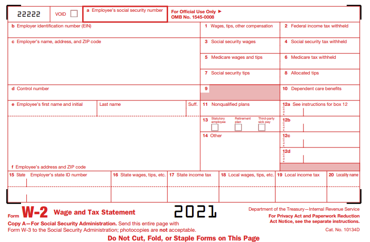 w2 form document  W-8 Wage and tax statement data source guide - Dynamics GP ...