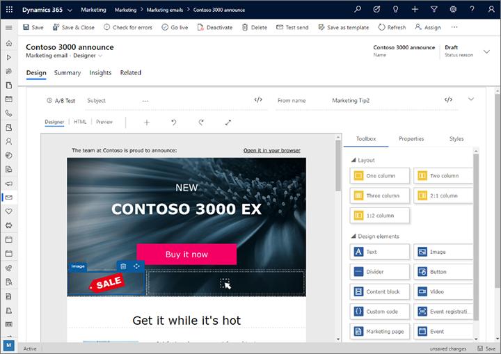 Layout editor - Dynamics 365 Release Plan | Microsoft Docs