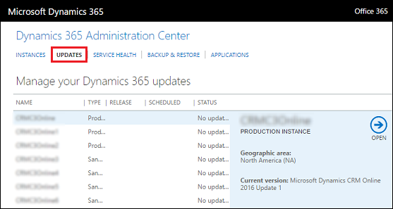 Use the office 365 admin center to manage your dynamics - Get updates for windows office and more ...
