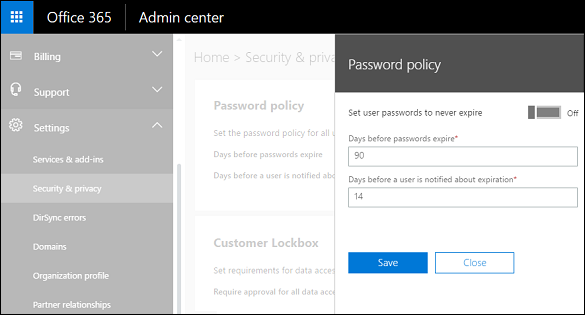 Use the Microsoft 365 admin center to manage your Dynamics