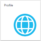 User Profile button in Azure Active Directory