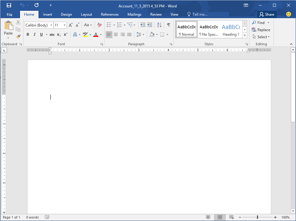 Document creation in msd 365 crm practice for Word cannot open this document template
